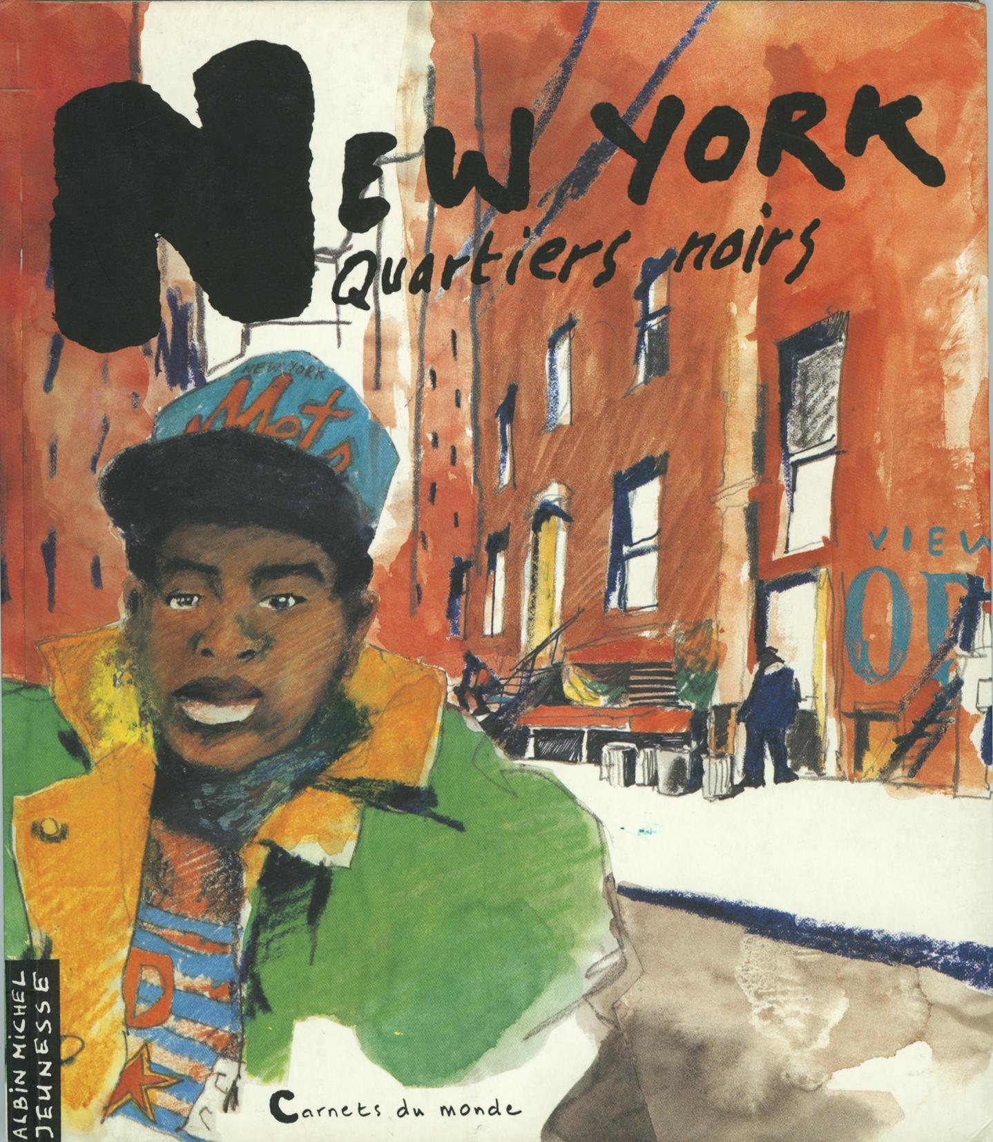 01Couverture du livre New york: quartiers noirs