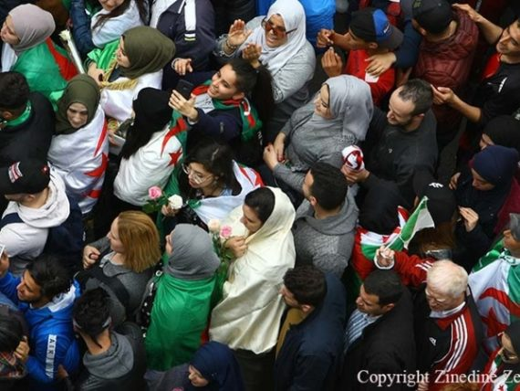 La marche du 8 mars 2019 à Alger Copyright Zinedine Zebar